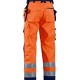 Blåkläder Softshell broek High vis klasse 2  1567