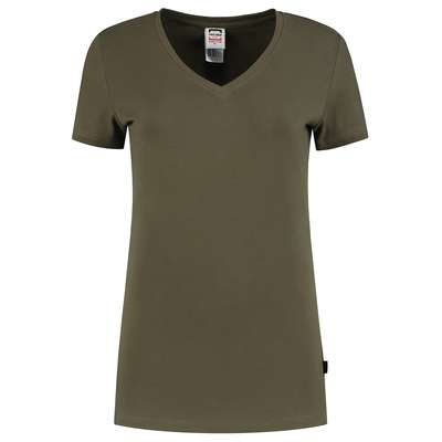 Tricorp 101008 T-Shirt V Hals Fitted Dames