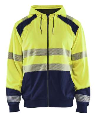 Blåkläder Hooded sweatshirt High Vis 3546