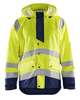 Blåkläder Regenjas High Vis Level 3 4327 High Vis Oranje Marineblauw XXXL